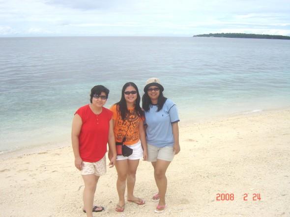 Kuha ang larawan na 'to sa Digyo Island, Leyte. Isang isla na napakaganda at malinis.